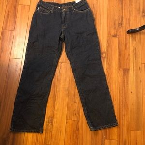 NWT Carhartt women's lined jeans size 6 x 30